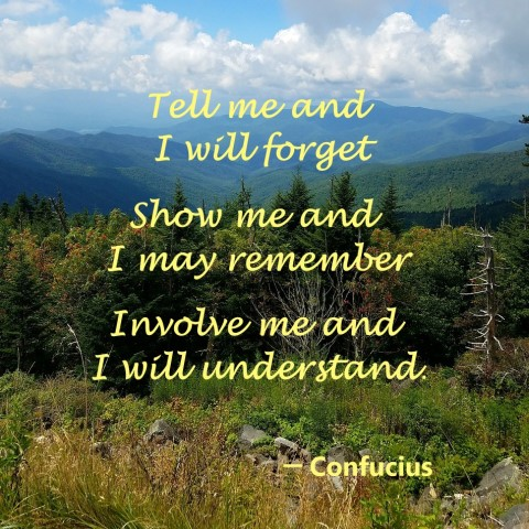 tell me show me quote